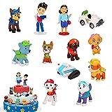 Tortendeko, 12 Stück Tortenfiguren, Kuchendekoration,Muffin Deko,Kuchen Deko,für Kinder Baby Geburtstag Torte Deko Supplies