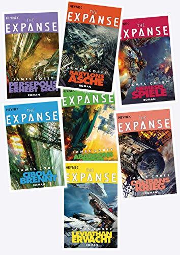 The Expanse-Serie von James Corey (Taschenbuch/Deutsch) inkl. Lesezeichen