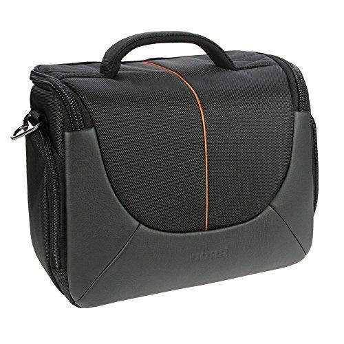 DÖRR Fototasche Yuma XL schwarz/orange