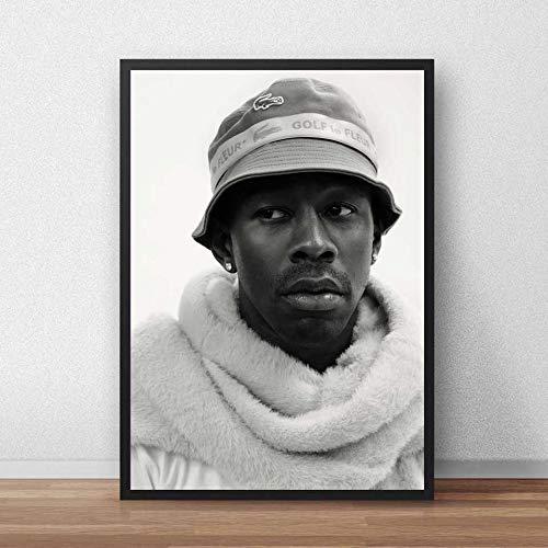 KWzEQ Cartel del creador Rap Music Rapper Wall Art Lienzo Poster Living Room Decoration,Pintura sin Marco,60X90cm