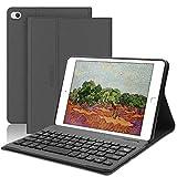 SENGBIRCH - Funda inteligente para iPad Mini 5 de 7,9 pulgadas, soporte magnético con teclado Bluetooth extraíble, para iPad Mini 4/3/2/1, color negro