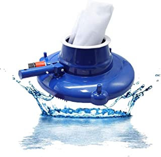 Pool Vacuum Underwater Cleaner with Brushes,Small Pool Vacuum,spa Vacuum for Hot Tubs,Leaf Bag for Above Ground Pools, Spa...