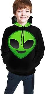 Alien Kids/Teen Boys Girls Hoodies,3D Print Pullover Sweatshirts