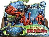 Dragons Movie Line 6046907 Dragon & Vikings - Figura de dragón y Vikingo (Madera)
