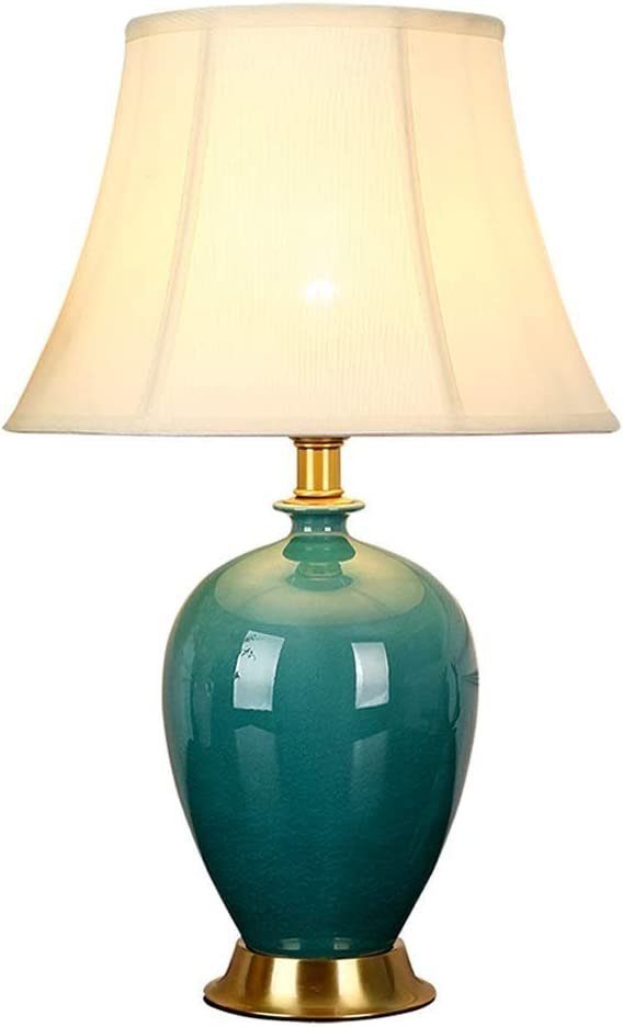 Price reduction NARUJUBU Modern Minimalist Ceramic Table Factory outlet Lamps Yarn Lamp Fabric