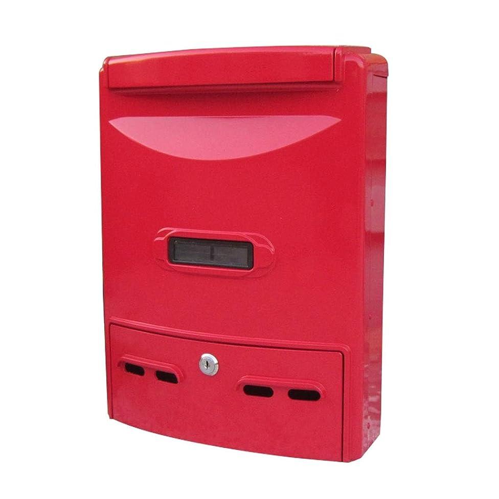 コミュニティタッククロスメールボックスメールボックス防水屋外メールボックス提案ボックスヨーロッパの壁掛けロックメールボックス ZHJING (Size : D)