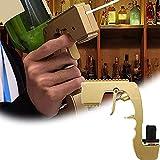QQDS Bulbly Blasteris Champagne Gun, Tappo di Vino Champagne Vino Dispenser Fontana Bottiglia di Birra Ejector Flirt Pistola per Celebrazioni di Compleanno, Cerimonie Nozze, Club Bar