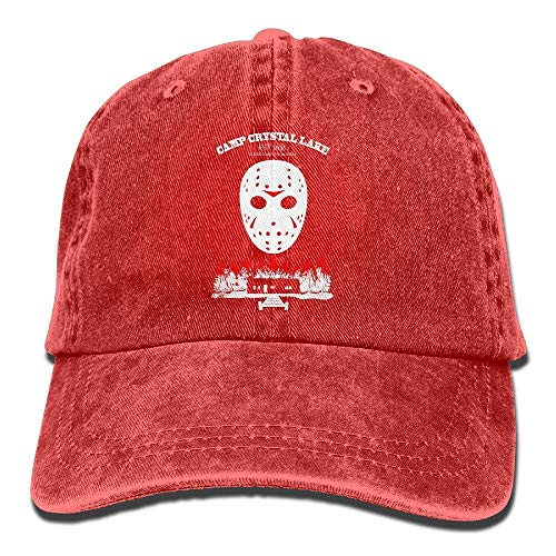 MLNHY Camp Crystal Lake Unisex Adult Adjustable Leisure Dad Hats
