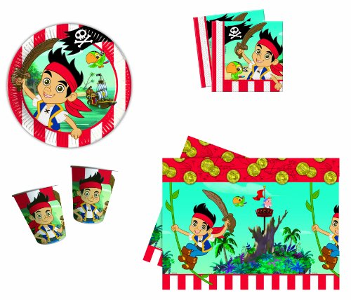 DISNEY - 5228 - Kit De Fête - Kit Jake 1 Neverland Pirates - Format l