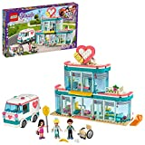 LEGOFriendsL'OspedalediHeartlakeCity,PlaysetconEmmaealtre2Mini-doll,perBambineeBambinidai6Anniinsu,41394
