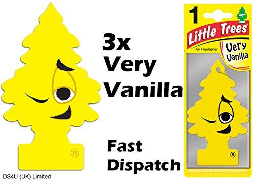 Magic Tree Lot de 3 désodorisants pour voiture Parfum vanille
