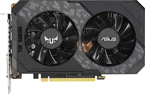 ASUS NVIDIA GeForce GTX 1660 TUF OC 6G Gaming (PCIe 3.0, 6GB DDR5 Speicher, HDMI, DVI, Displayport)