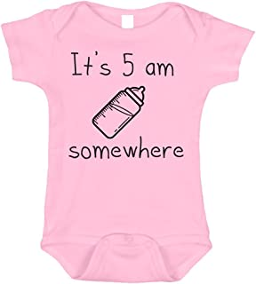 It's 5 AM Somewhere Hilarious Baby Outfits, 0 to 12 Months