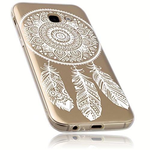 mumbi Hülle kompatibel mit Samsung Galaxy A5 2017 Handy Hülle Handyhülle mit Motiv Traumfänger, transparent