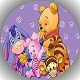 Fondant Tortenaufleger Tortenbild Geburtstag Winnie Pooh T10