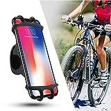 ZOESON Porta Cellulare Bici, Supporto Bici Smartphone, Manubrio Universale Bici Moto MTB per Tutti Gli Smartphone e Dispositivi Elettronici 4.0-6.0 Pollici