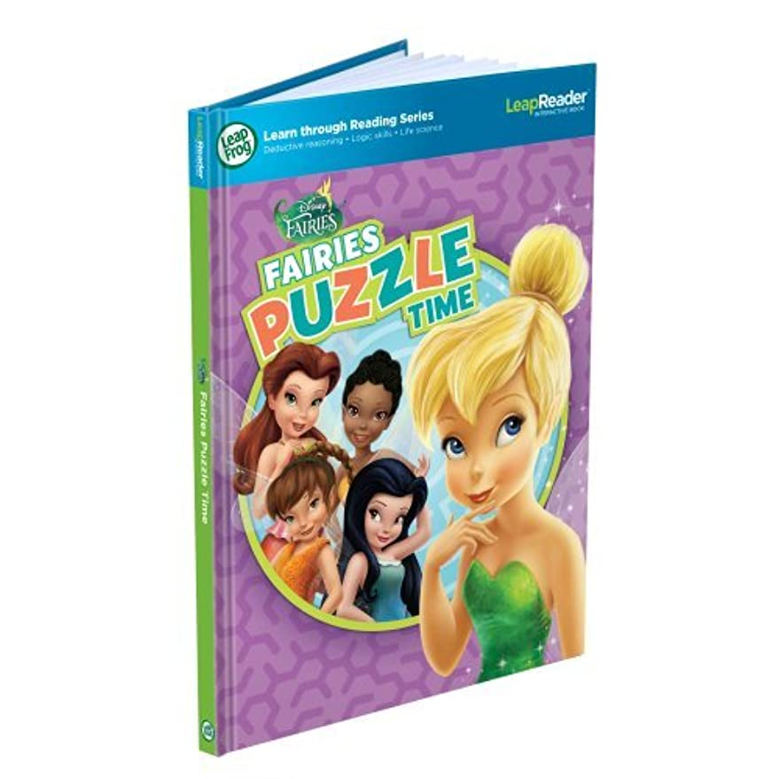 紫のパッチお酒LeapFrog LeapReader Book: Disney Fairies Puzzle Time (works with Tag) [並行輸入品]