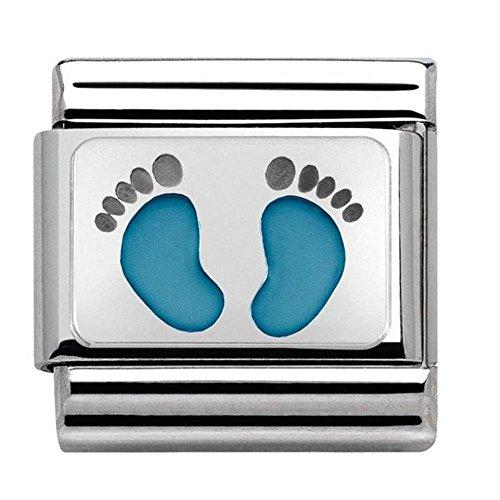 Nomination Unisex-Charm 925 Silber - 330208/15