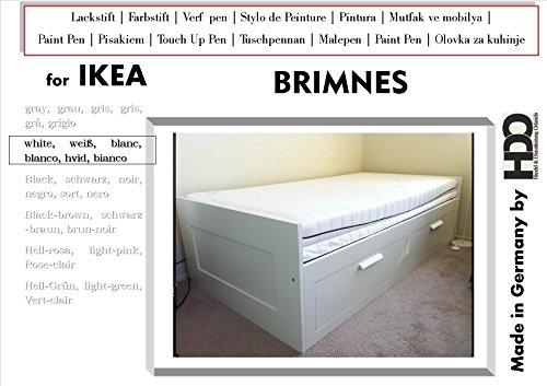 Q-Pen Touch Up Paint for IKEA Brimnes white