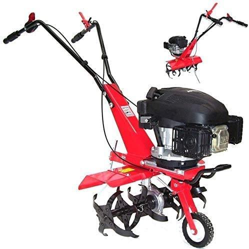 Motoazada de jardín de gasolina, 55752, motoazada 600, fresadora de tierra, fresadora de cultivador, ancho de trabajo 36 cm/60 cm, autopropulsada AWZ
