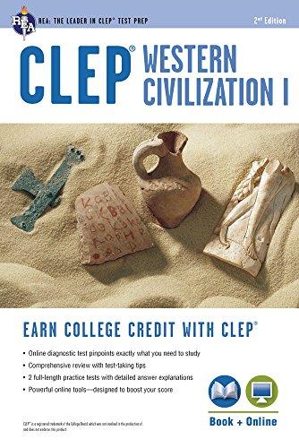 CLEP Western Civilization I Book + Online (CLEP Test Preparation)