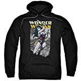 Sudadera con capucha: Wonder Woman- Fierce Amazon Pullover Sudadera con capucha talla M
