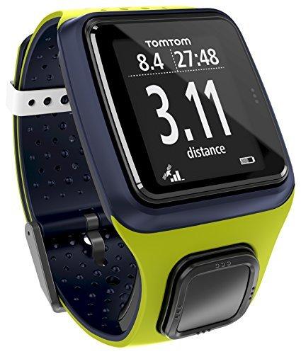 TomTom Runner Watch Ltd Ed. - GPS de Mano, Verde/Azul Oscuro