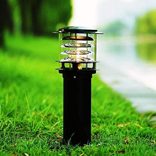 DULG IP65 Waterproof Outdoor Garden Post Bollard Light Community Lighting Column Lamp Aluminum Pathway Driveway Floor Lawn Landscape Lighting E27 Decoration Pillar Lantern High Pole Lamp