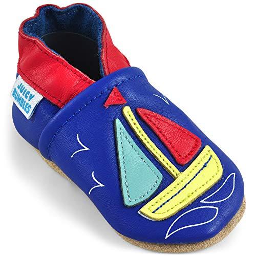 Zapatillas Bebe Niño - Zapato Bebe Niño - Zapatos Bebes - Calzados Bebe Niño - Barco de Vela - 6-12 Meses