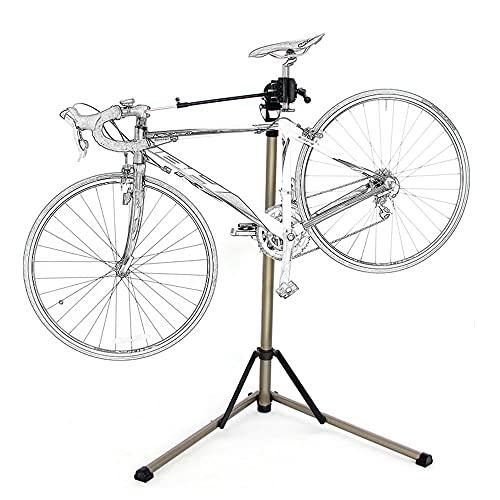 Titular De Soporte De Trabajo De Bicicleta, Herramientas De Reparación De Bicicletas Profesional Aleación De Aluminio Pliegue De Bicicleta De Bicicleta De Bicicleta De Almacenamiento De Soporte De Rep