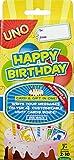 Mattel Games - UNO ¡Feliz Cumpleaños!, Juego de Mesa (CGJ06)