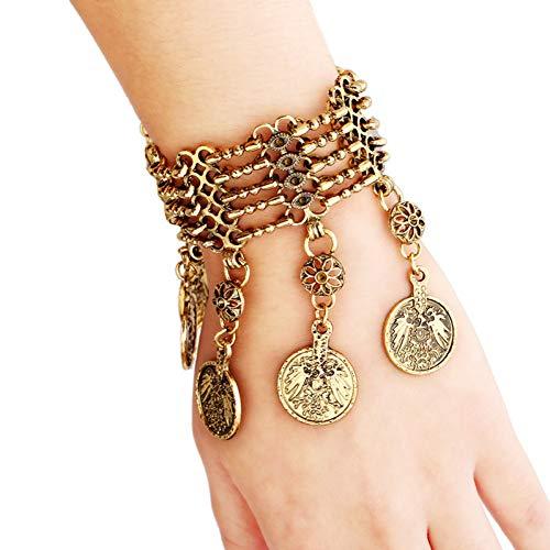 HUSHOUZHUO Fashion Vintage Charm Quaste Armbänder & Armreifen Gypsy Ethnic Multi Layer Armbänder Für Frauen