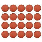 Amuzocity Discos de Lijado de 20 Piezas de 75 Mm para Pulir Lijadoras Orbitales...