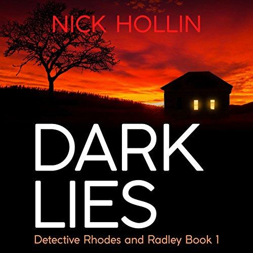 Dark Lies audiobook cover art