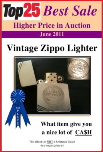 Top25 Best Sale Higher Price in Auction - ZIPPO LIGHTER (English Edition)