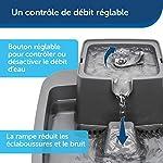 PetSafe Fontaine Drinkwell 7,5 litres Adaptée aux Grandes Races de Chiens et Plusieurs Animaux de Compagnie, Différents flux - Filtres anti-odeurs et mauvais goût inclus – Facile à Nettoyer - Sans BPA #1