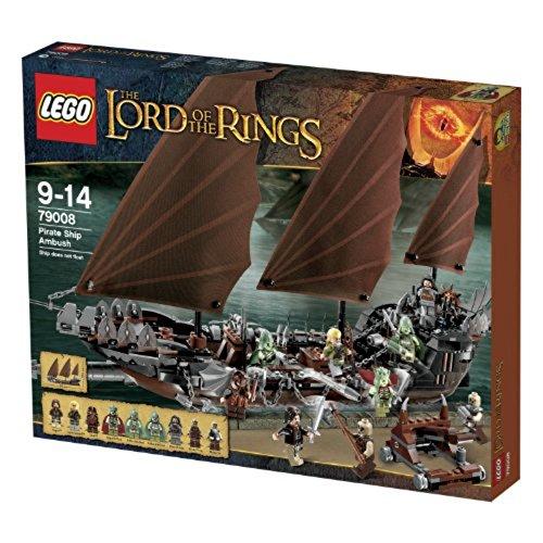 LEGO 79008 - The Lord of The Rings, Hinterhalt auf dem Piratenschiff