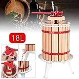 Hengda 18 L Presse à fruits Pressoir à baies fruit Presse-Fruits jus presse mécanique toile à pressoir incluse
