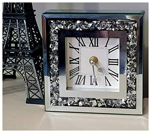 Karina Bailey - Reloj de Mesa con Diamantes Sueltos