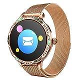ZDY Smart Watch M9, Smartwatch Resistente al Agua IP68 para el período de la Mujer, rastreador de Actividad física con...