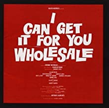 I Can Get It For You Wholesale (1962 Original Broadway Cast) Cast Recording Edition by Various (2009) Audio CD