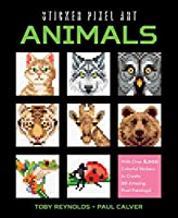 Sticker Pixel Art: Animals: With Over 8,000 Colorful Stickers to Create 20 Amazing Pixel Paintings!