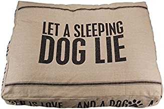 Primitives by Kathy Double-Sided Bed, Large, Kiss Your Dog Goodnight