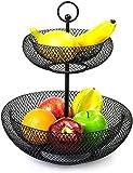 zyh Soporte Decorativo para Cesta de Frutas de fácil instalación (1 artículo)