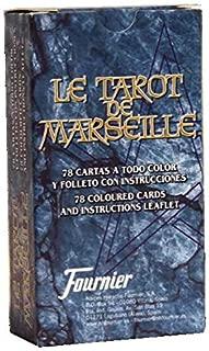 Marseille Tarot w/Instructions - Tarot de Marsella con Instrucciones