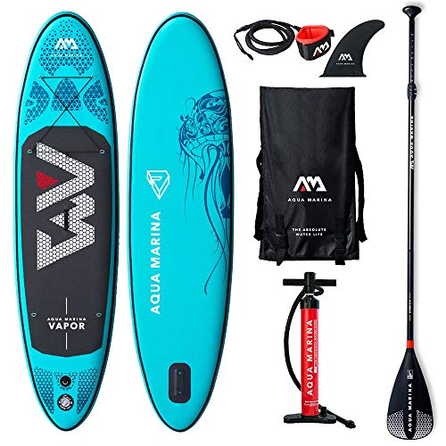 AQUA-MARINA Stand up Paddle Gonflable Sup AQUAMARINA Vapor 2019 Pack Complet 300x76x12cm Mixte