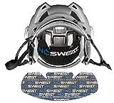 No Sweat Hockey Helmet Liner - Moisture Wicking Sweatband Absorbs Dripping Sweat | Helps Prevent Acne, Reduces Fogging/Anti-Fog… (6pk)