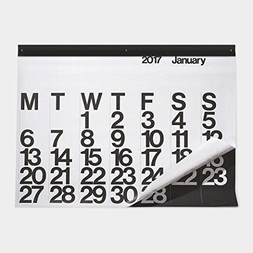 Stendig オーバーサイズ カレンダー 2017