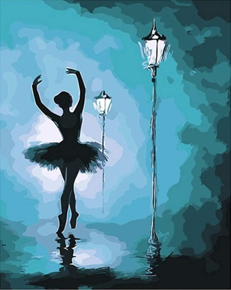 YEESAM ART Paint by Numbers Discount is also underway Limited price sale for Lone Kids Balleri Dancer Adults