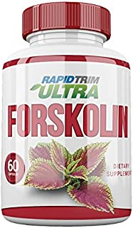 Rapid Trim Ultra Forskolin. Boosts Metabolism, Curbs Food Cravings, Raises Serotonin Levels. Non GMO, Preservative Free. 100% Safe, Pure Ingredients - All Natural Appetite Suppressant with HCA